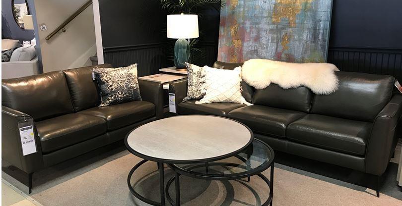31800 Sofa and Loveseat Set by Violino at Stoney Creek Furniture
