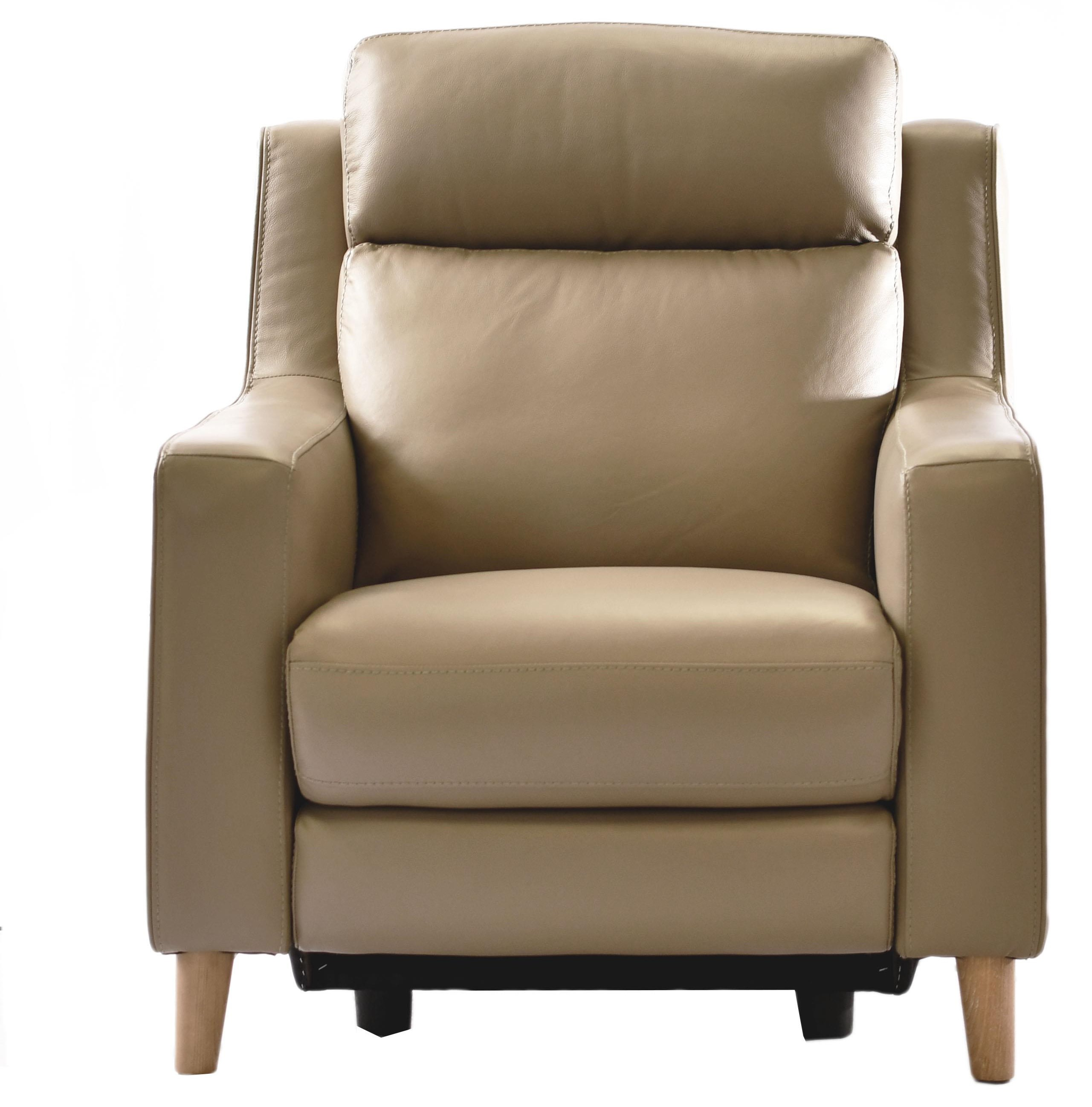 32097 Leather Power Motion Chair at Bennett's Furniture and Mattresses
