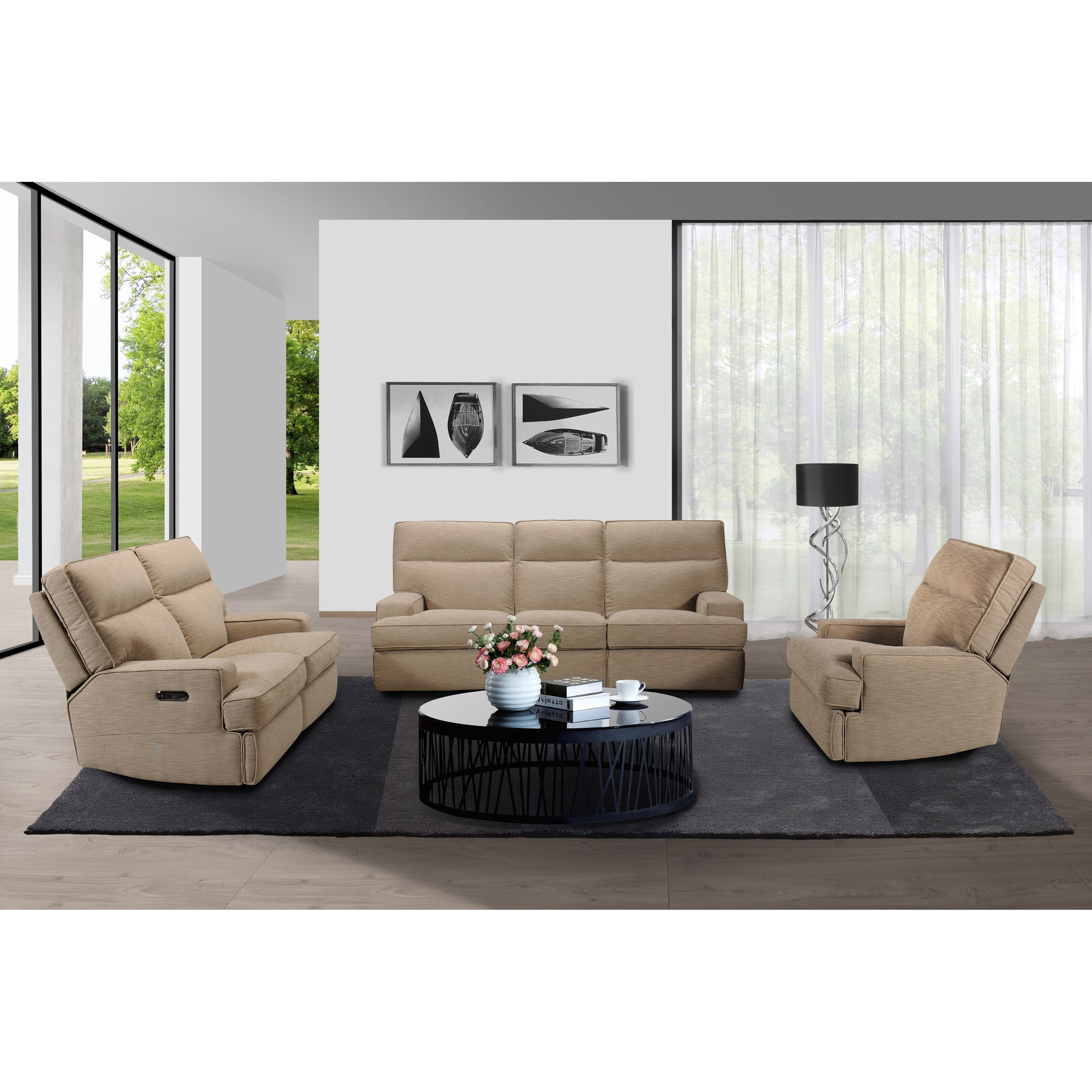 32146 Reclining Living Room Group by Violino at Furniture Superstore - Rochester, MN
