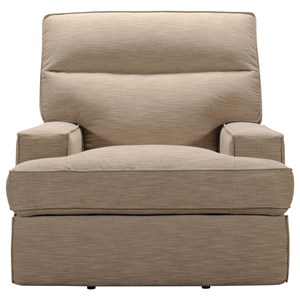 Contemporary Power Recliner with Power Tilt Headrest and USB Charging Port