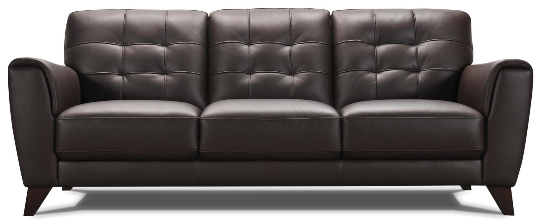 32294 Leather Sofa - Brown by Violino at Furniture Fair - North Carolina
