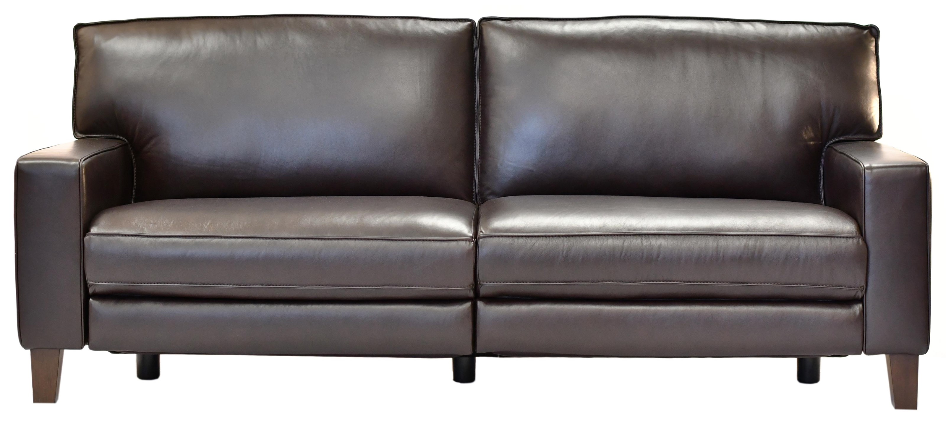 32644EC Leather Power Reclining Sofa at Bennett's Furniture and Mattresses