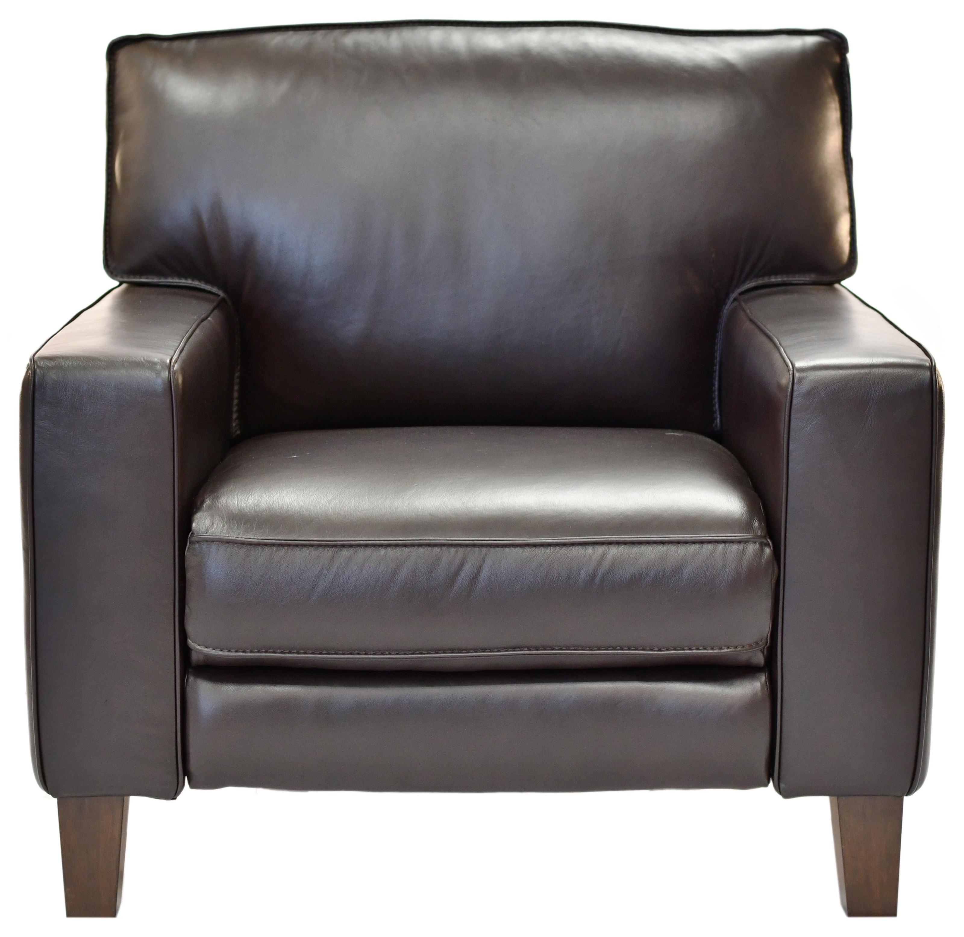 32644EC Power Leather Reclining Chair at Bennett's Furniture and Mattresses