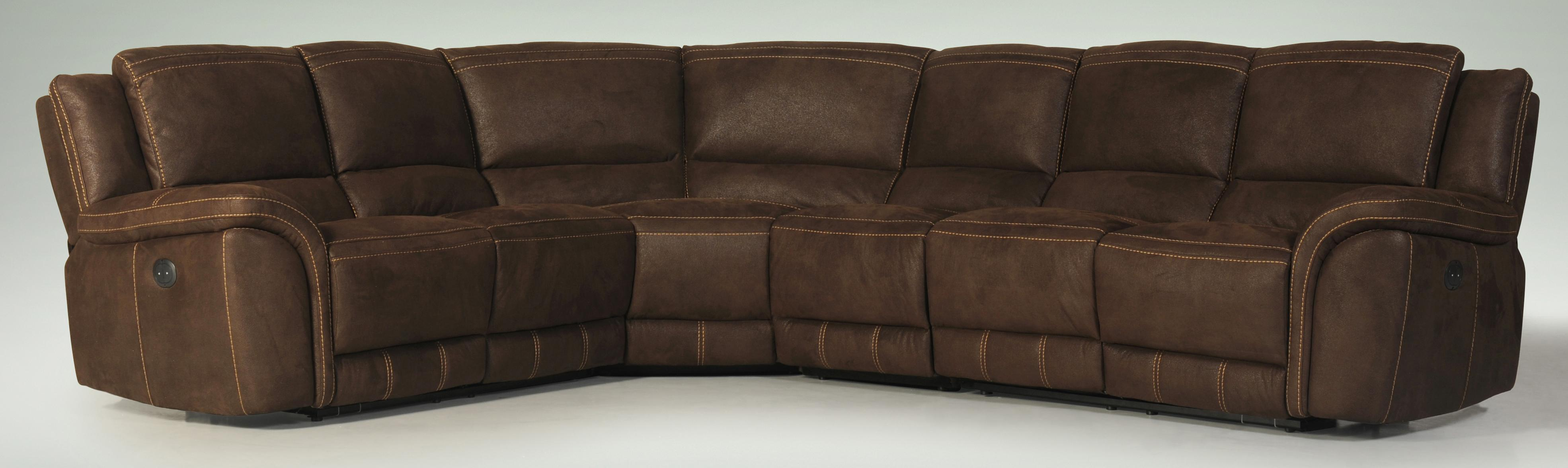 3478RC-FK Reclining Sectional Sofa by Violino at Furniture Superstore - Rochester, MN