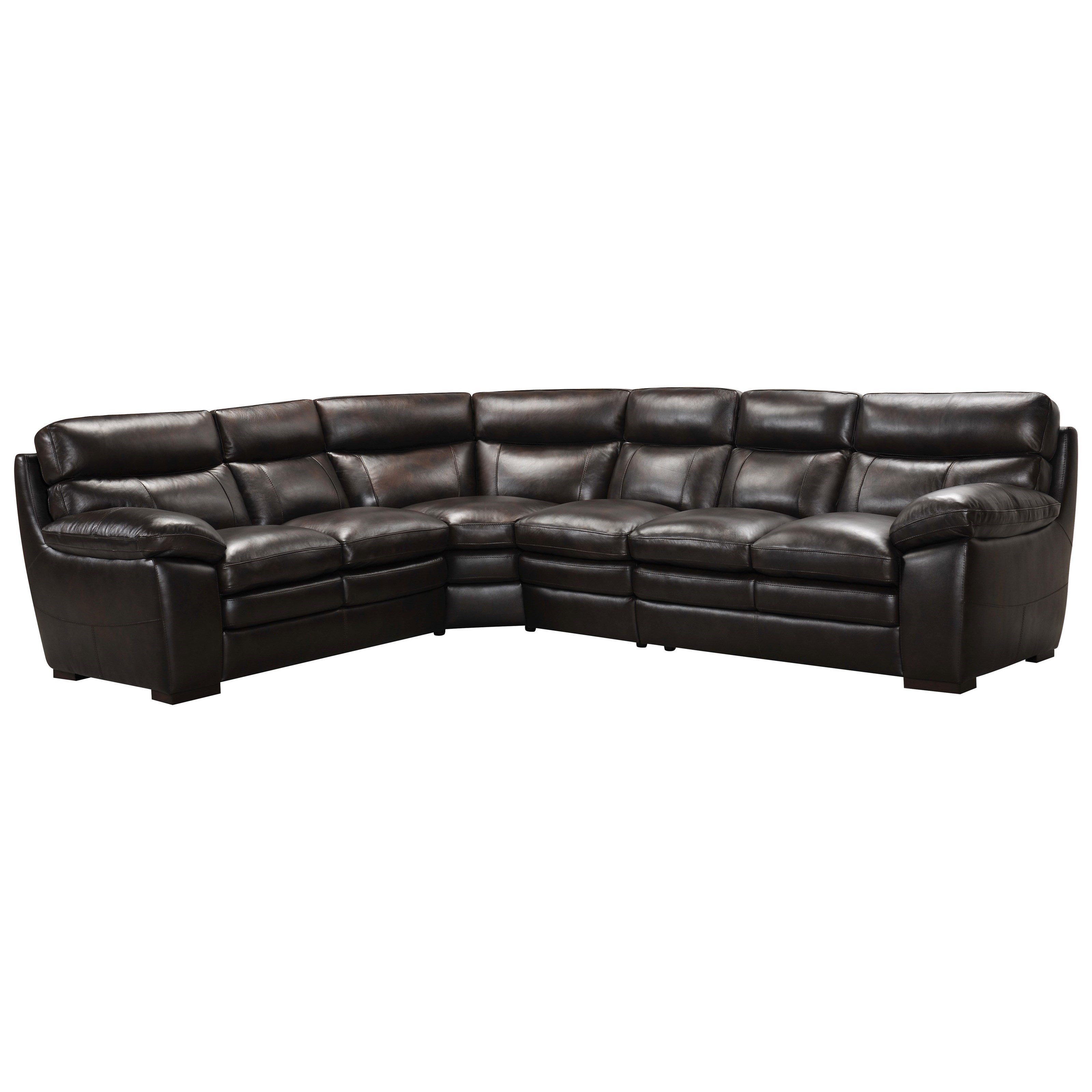 3658 4-Pc Sectional Sofa by Violino at Furniture Superstore - Rochester, MN