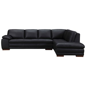 Casual Two Piece Sectional Sofa