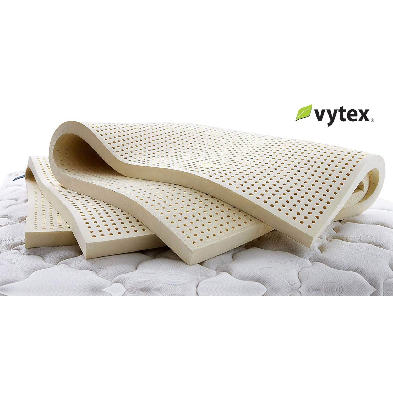 "Vytex Mattress Toppers - Medium Twin XL 3"" Medium Latex Mattress Topper by Vytex at Rotmans"