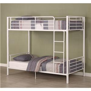 Walker Edison Bedroom Twin/Twin Bunk Bed