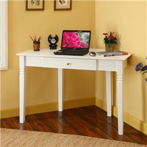 Walker Edison Home Office Wood Corner Desk
