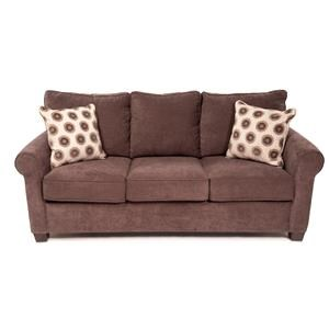 Queen Sleep Sofa w/ Gel Memory Foam Mattress
