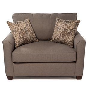 Twin Sleep Sofa w/ Gel Memory Foam Mattress