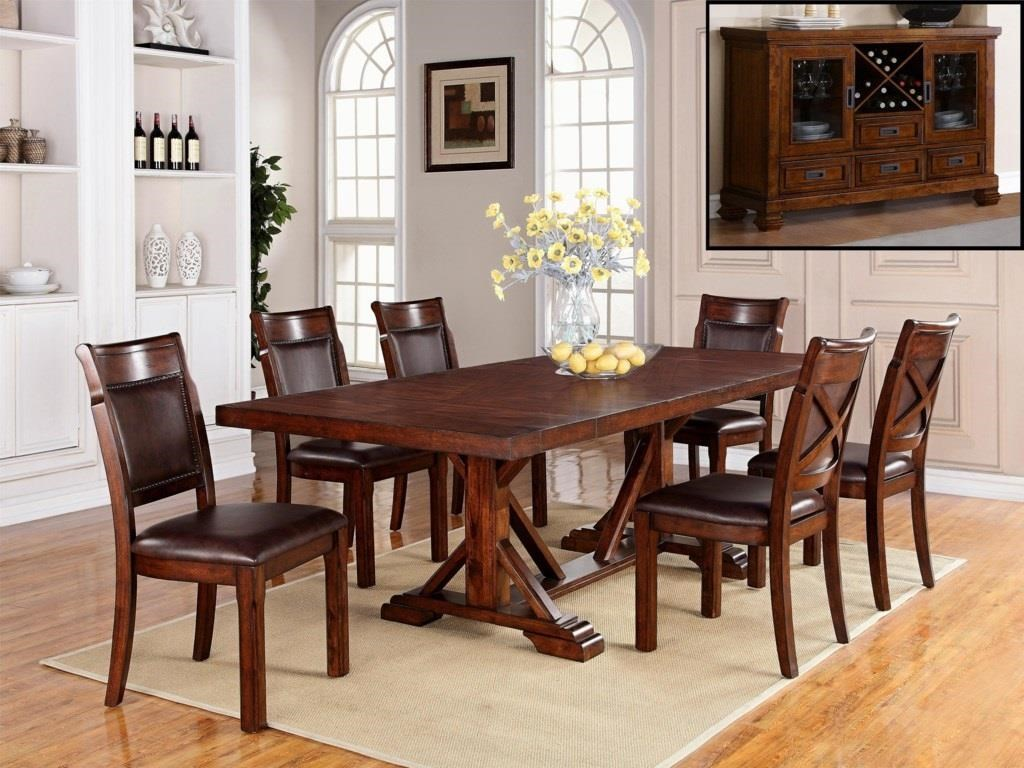 Adirondack 44x78x90x102 trestle table by Warehouse M at Dinette Depot