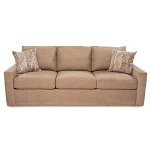 Queen Sleep Sofa w/ Gel Memory Foam Mattress