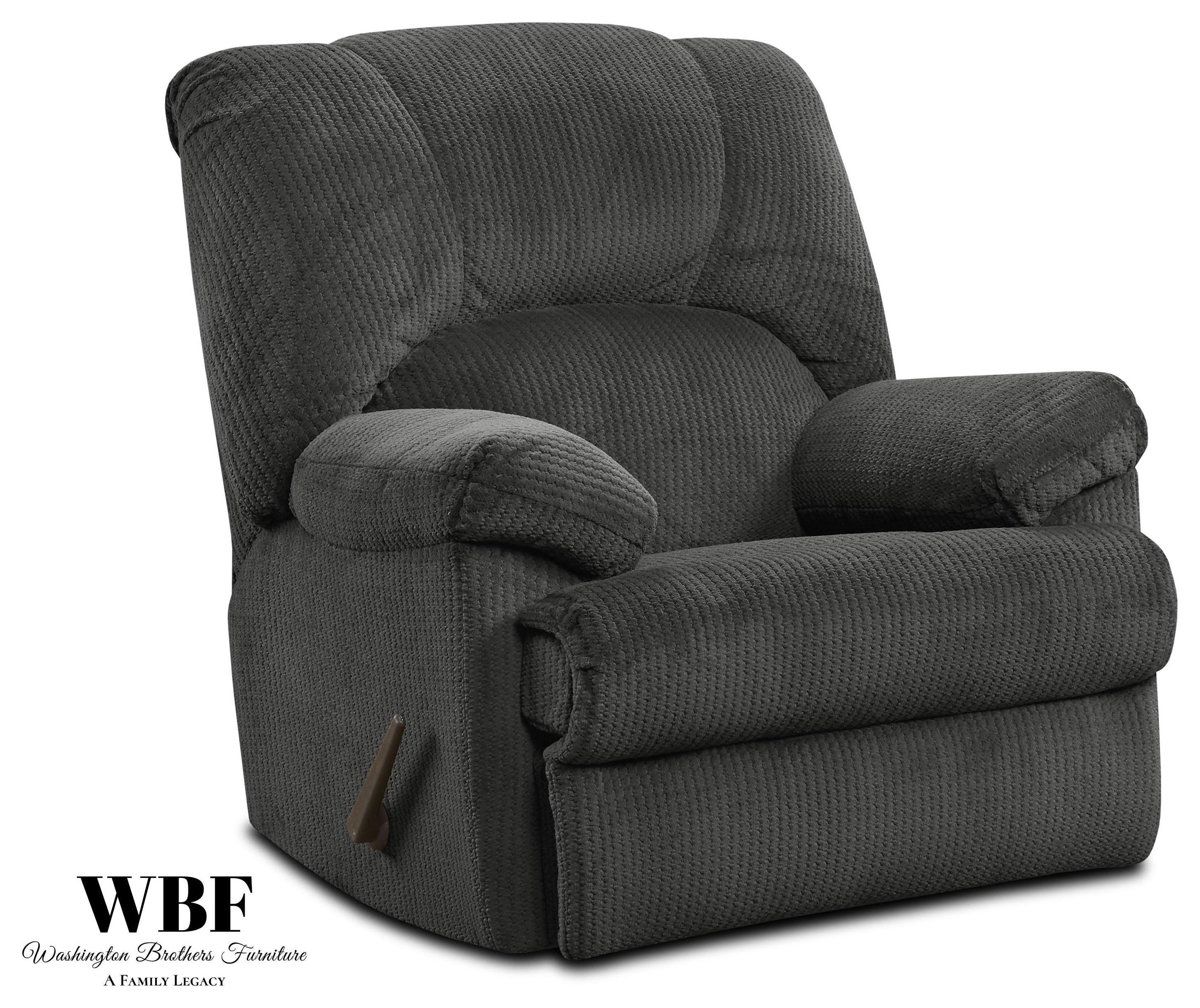 9015 Rocker Recliner - Slate by Washington Brothers Furniture at Furniture Fair - North Carolina