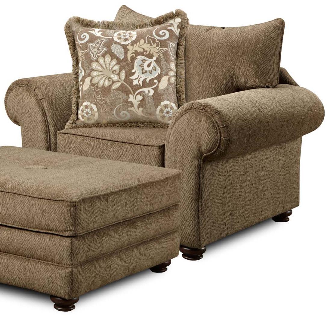 1120 Arm Chair by Washington Furniture at Lynn's Furniture & Mattress