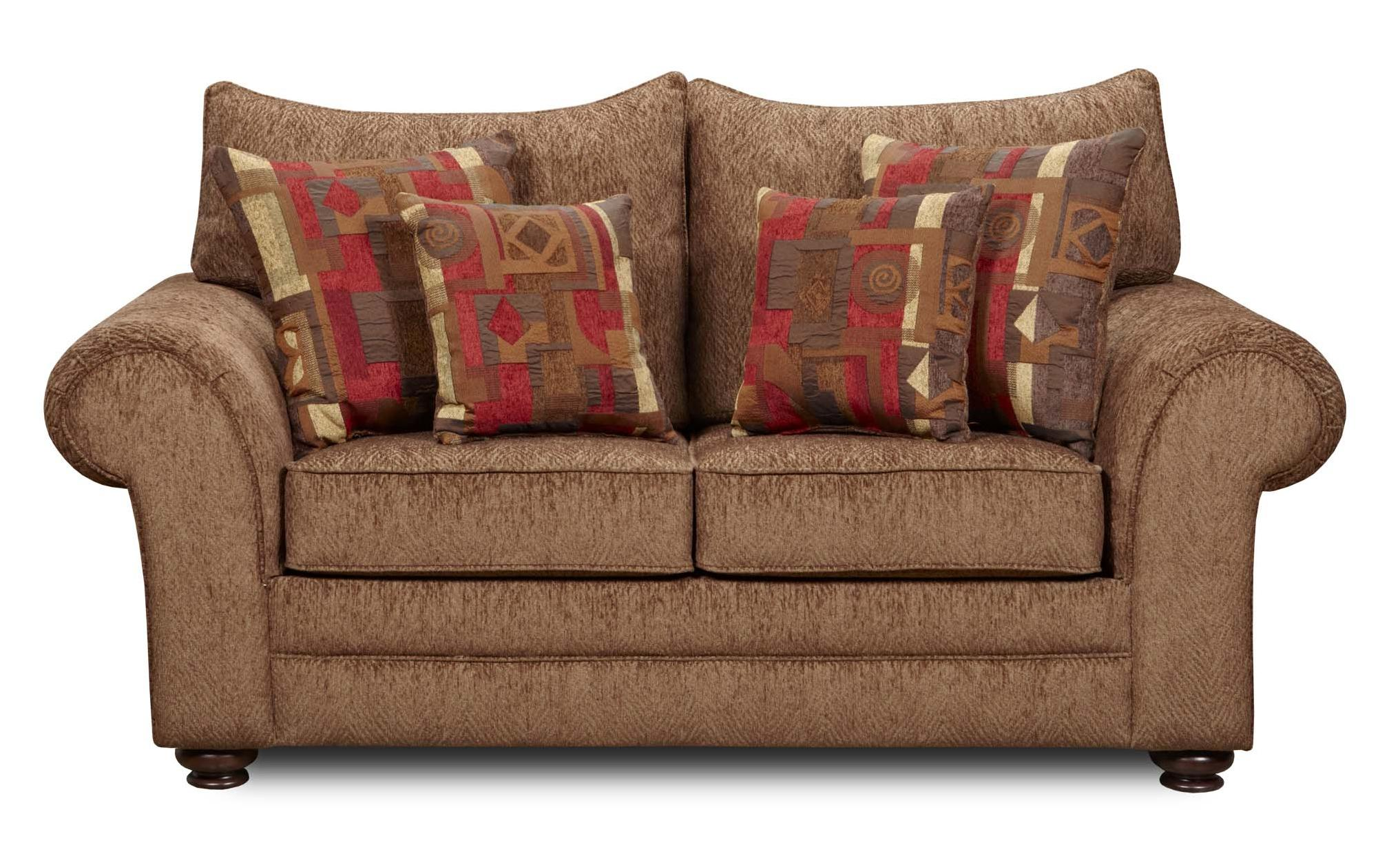1120 Love Seat by Washington Furniture at Lynn's Furniture & Mattress