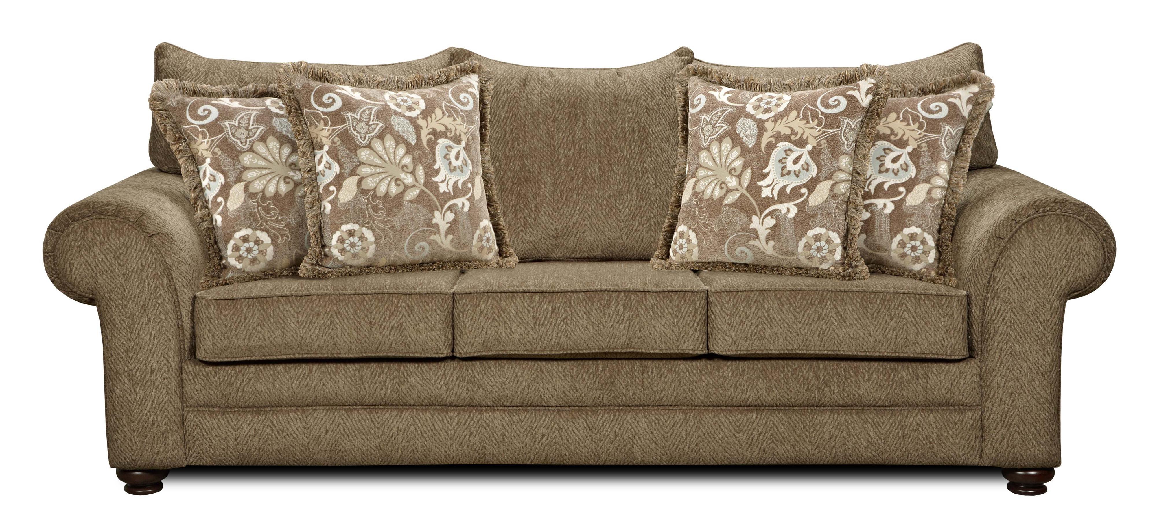 1120 Sofa by Washington Furniture at Lynn's Furniture & Mattress