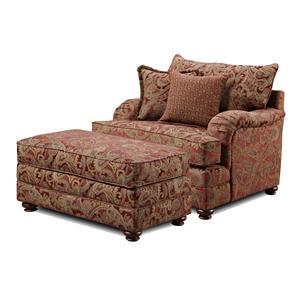 Washington Furniture 1130 Chair and Ottoman