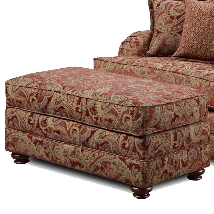1130 Ottoman by Washington Furniture at Lynn's Furniture & Mattress