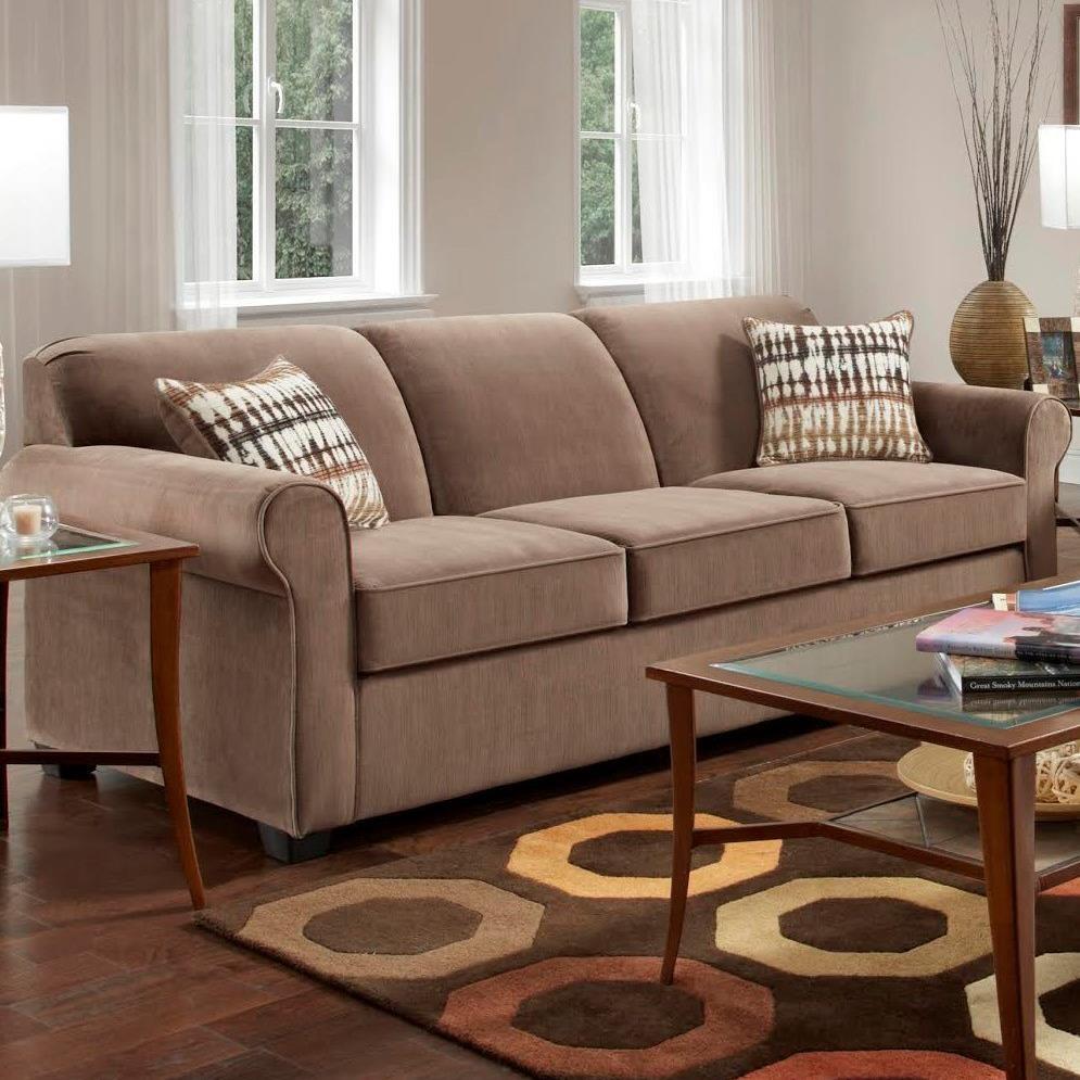 1210 Sofa by Washington Furniture at Lynn's Furniture & Mattress