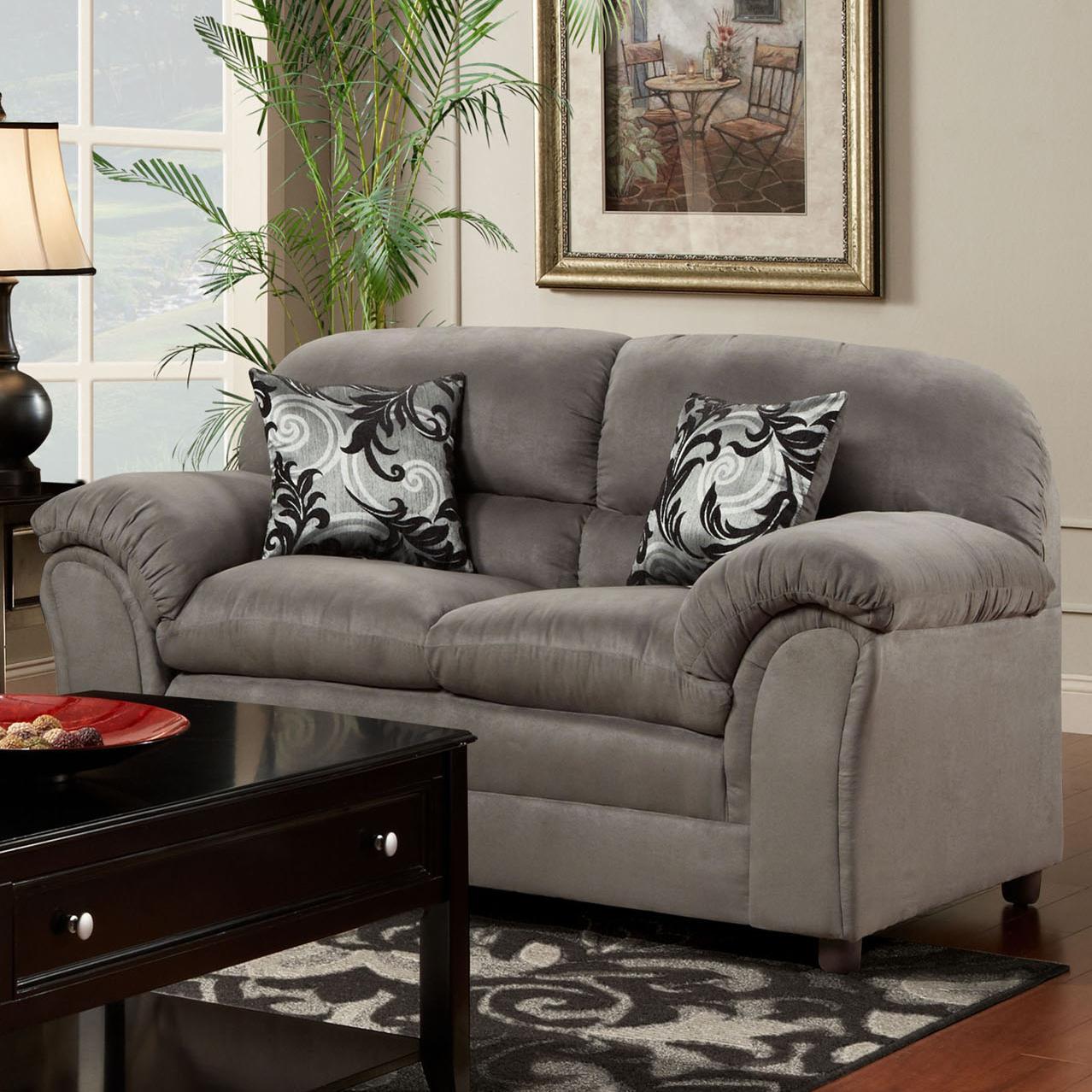 1250 Loveseat by Washington Furniture at Lynn's Furniture & Mattress