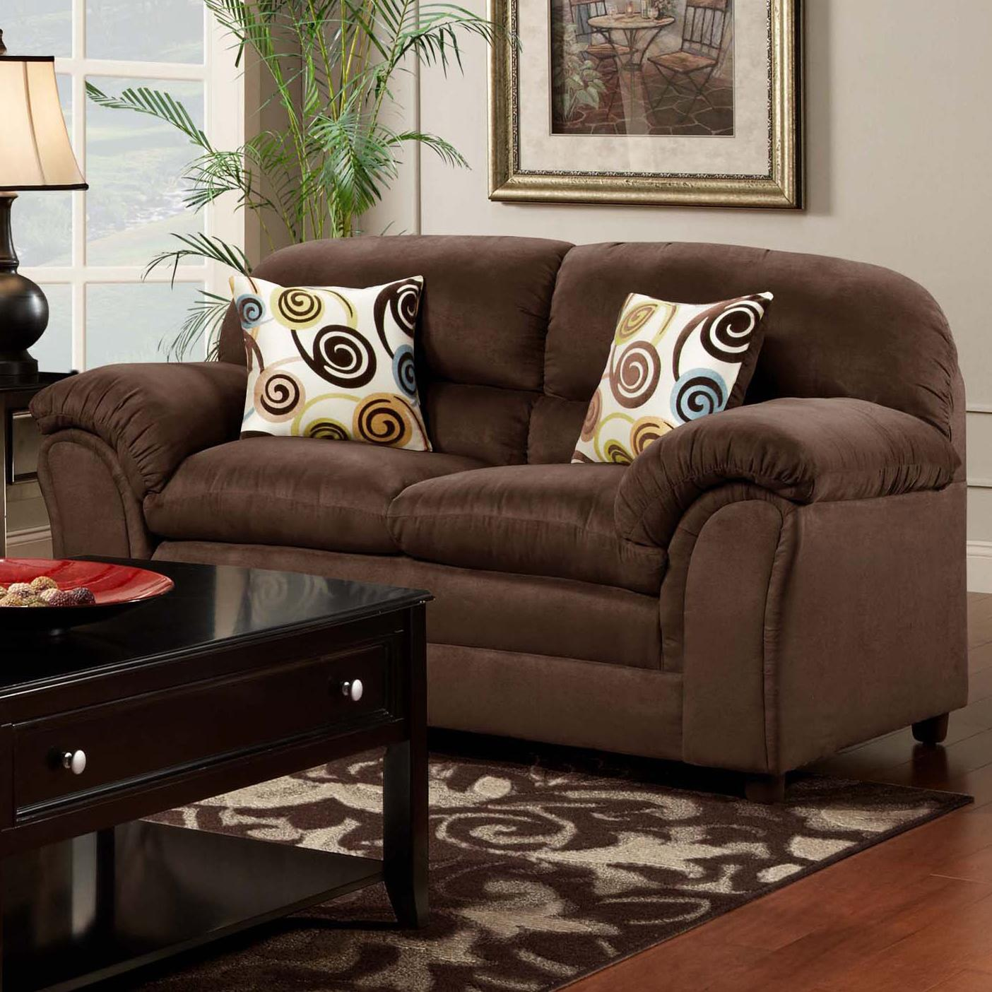 1250 Loveseat by Washington Furniture at Lynn's Furniture & Mattress