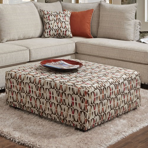 1850 Ottoman by Washington Furniture at Lynn's Furniture & Mattress