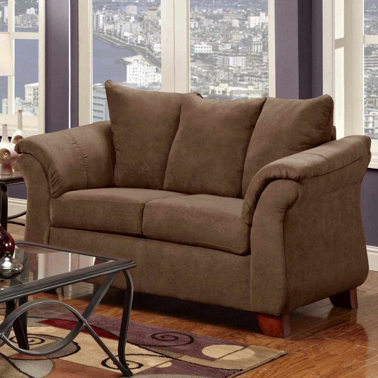 2000 Loveseat by Washington Furniture at Lynn's Furniture & Mattress