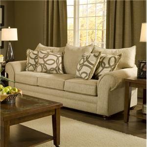 Washington Furniture 2120 Traditional Stationary Sofa
