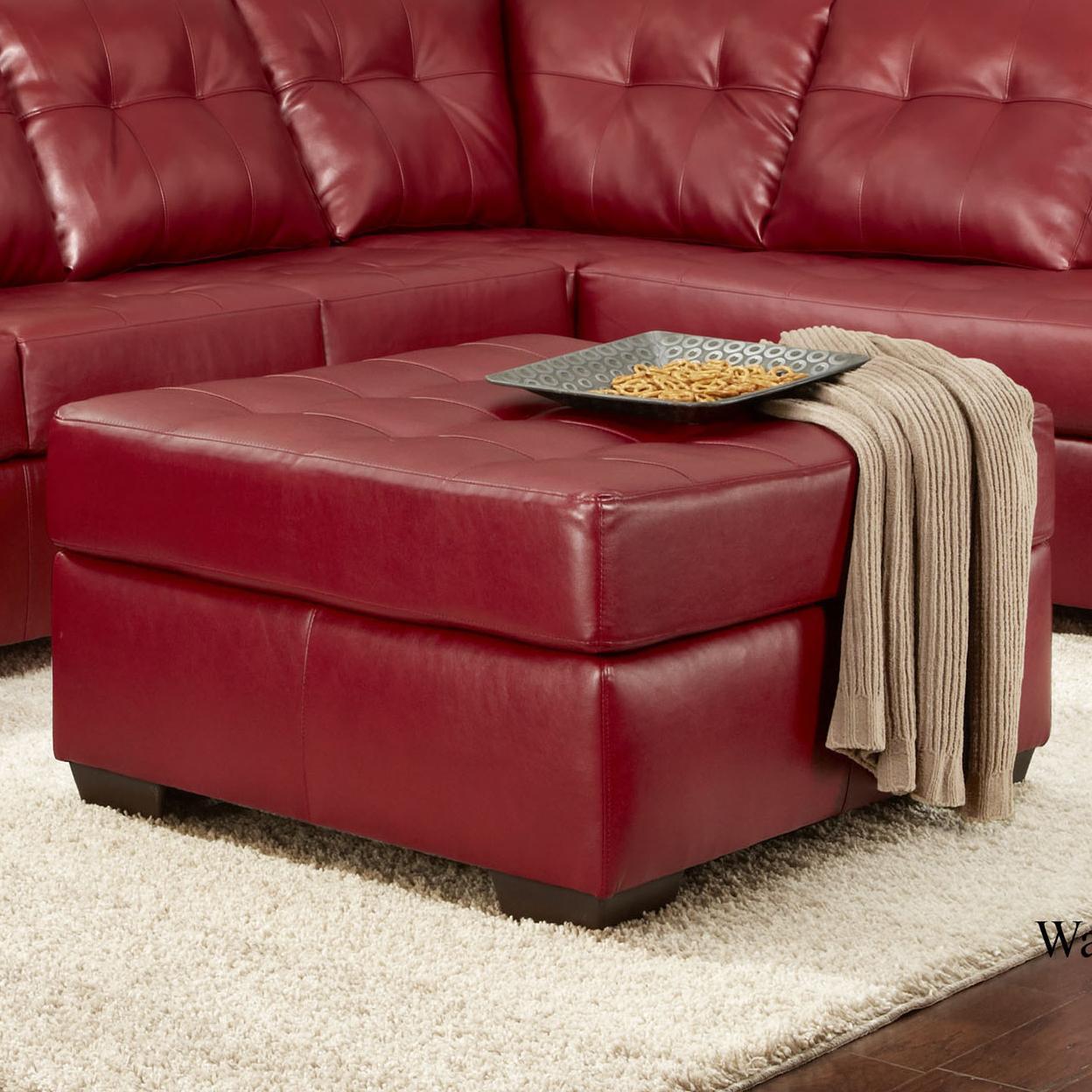 2400 Ottoman by Washington Furniture at Lynn's Furniture & Mattress