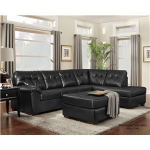 Washington Furniture 2400 Chaise Sectional