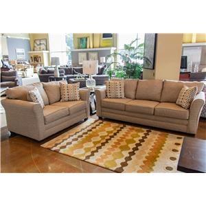 Washington Furniture Mover Straw Sofa & Loveseat