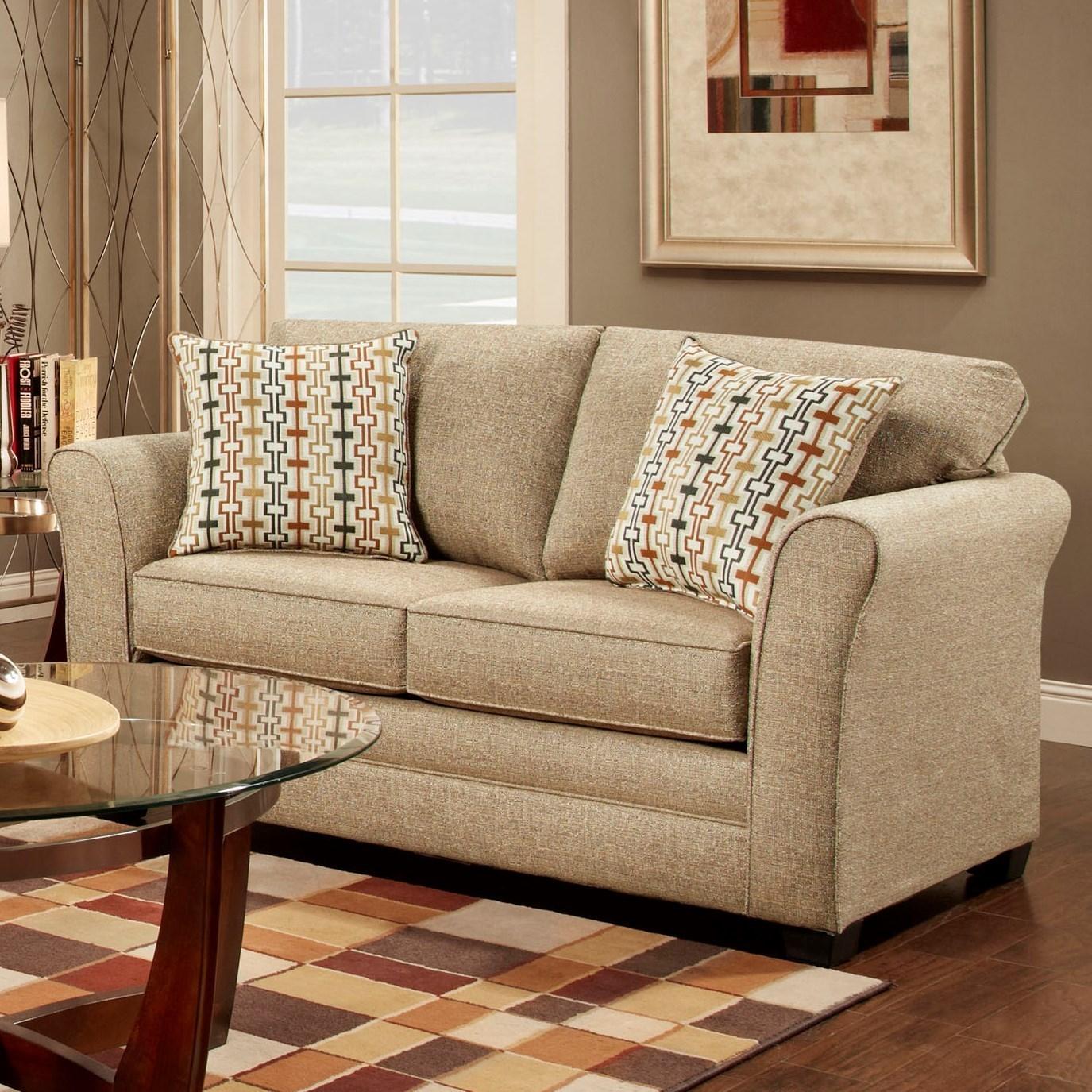 3250 Washington Love Seat by Washington Furniture at Lynn's Furniture & Mattress