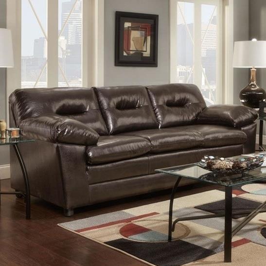 3670 Sofa by Washington Furniture at Lynn's Furniture & Mattress