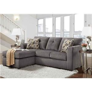 North American-made Sofa with Chaise