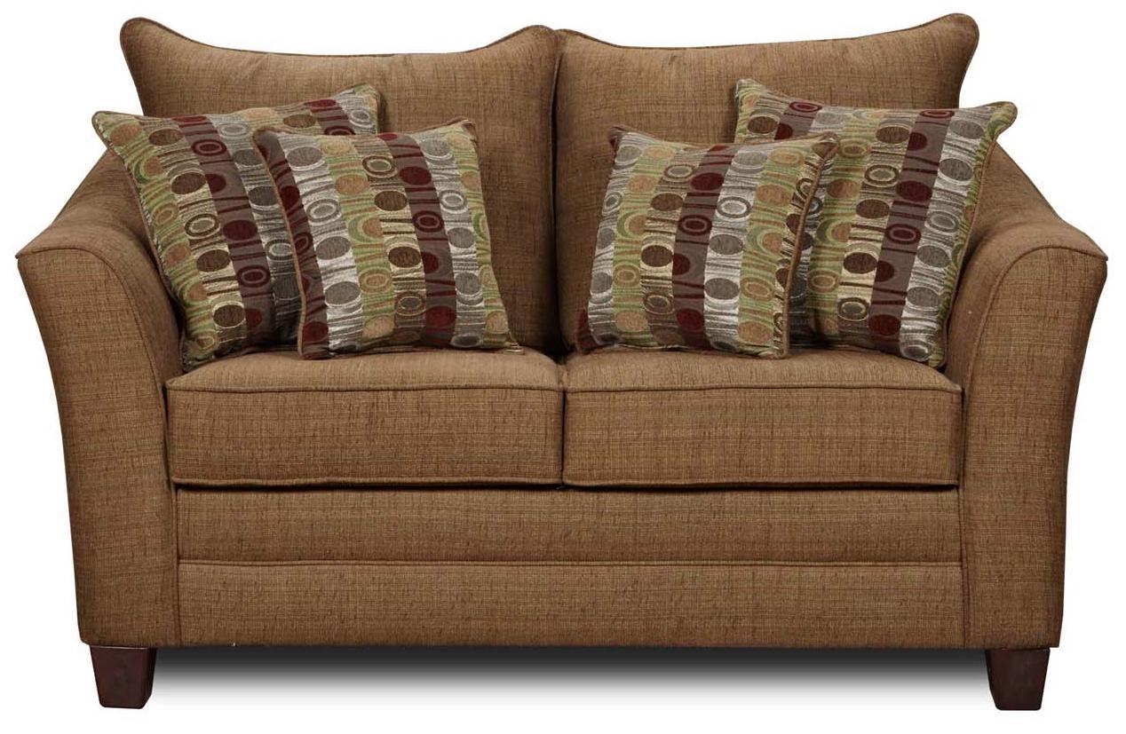 4010 Love Seat by Washington Furniture at Lynn's Furniture & Mattress