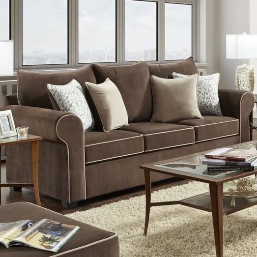 5040 Sofa by Washington Furniture at Lynn's Furniture & Mattress