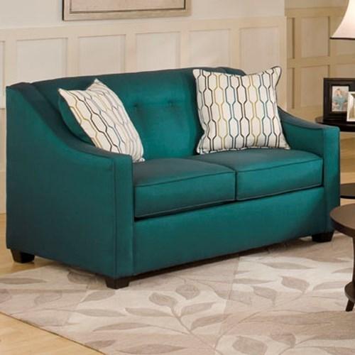 5440 Loveseat by Washington Furniture at Lynn's Furniture & Mattress
