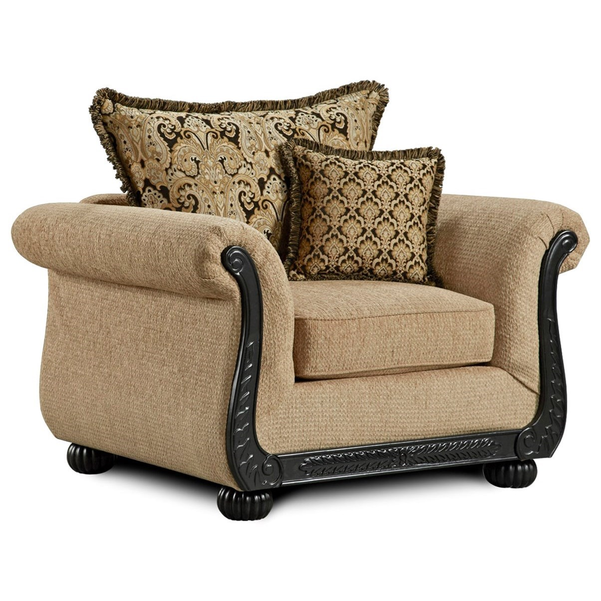 6000 Upholstered Chair by Washington Furniture at Lynn's Furniture & Mattress
