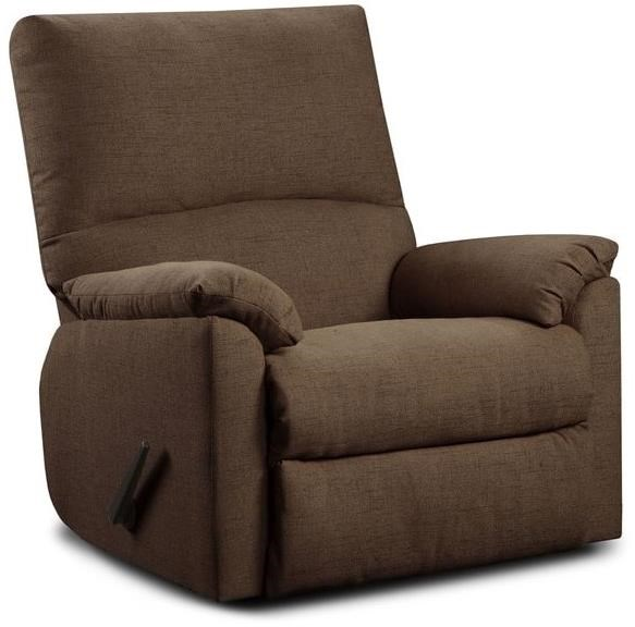 Mitchell Recliner Recliner by Washington Furniture at Lynn's Furniture & Mattress