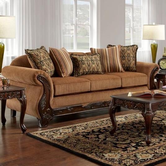7680 Sofa by Washington Furniture at Lynn's Furniture & Mattress