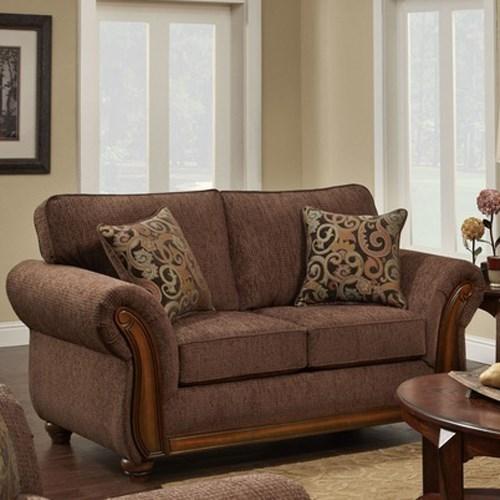 8100 Washington Love Seat by Washington Furniture at Lynn's Furniture & Mattress