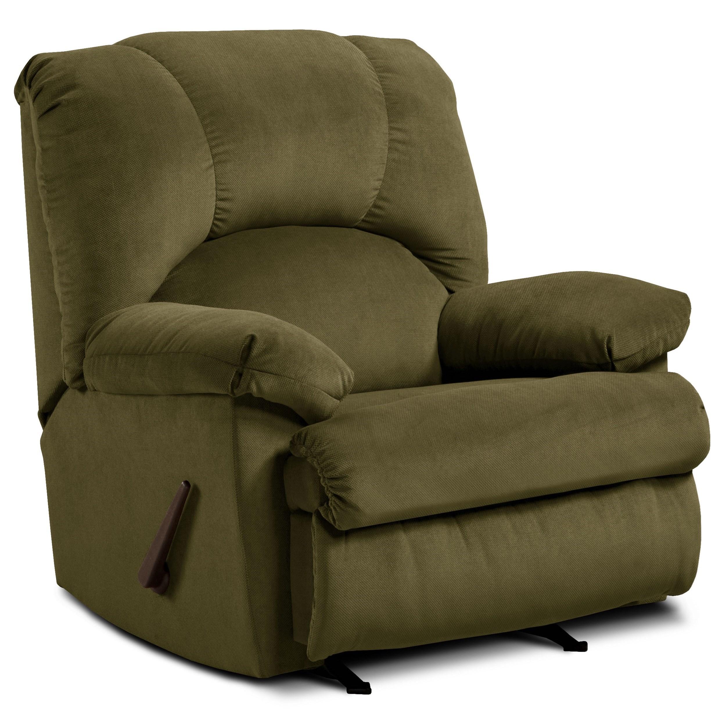 8500  Recliner by Washington Furniture at Lynn's Furniture & Mattress