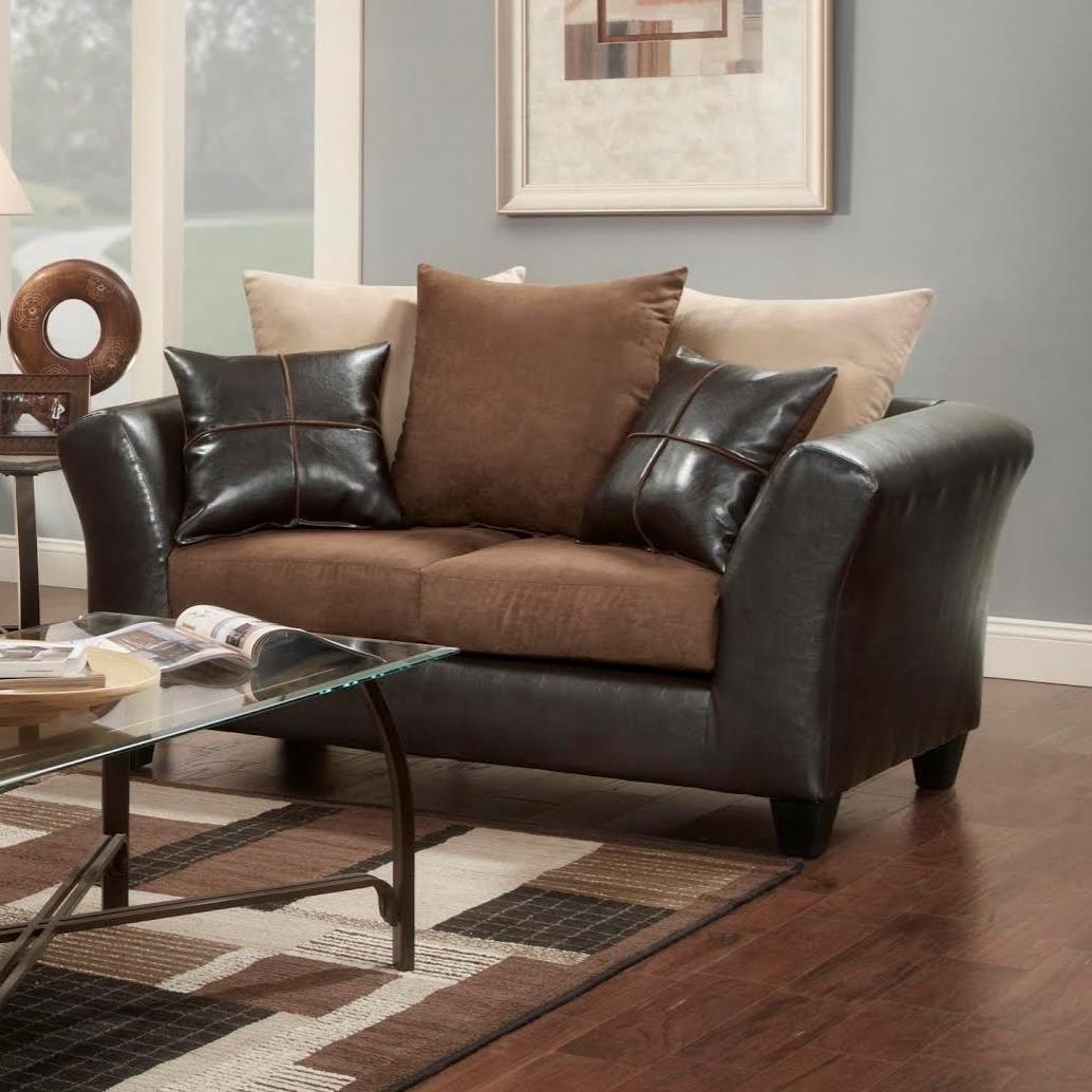 9000 Love Seat by Washington Furniture at Lynn's Furniture & Mattress