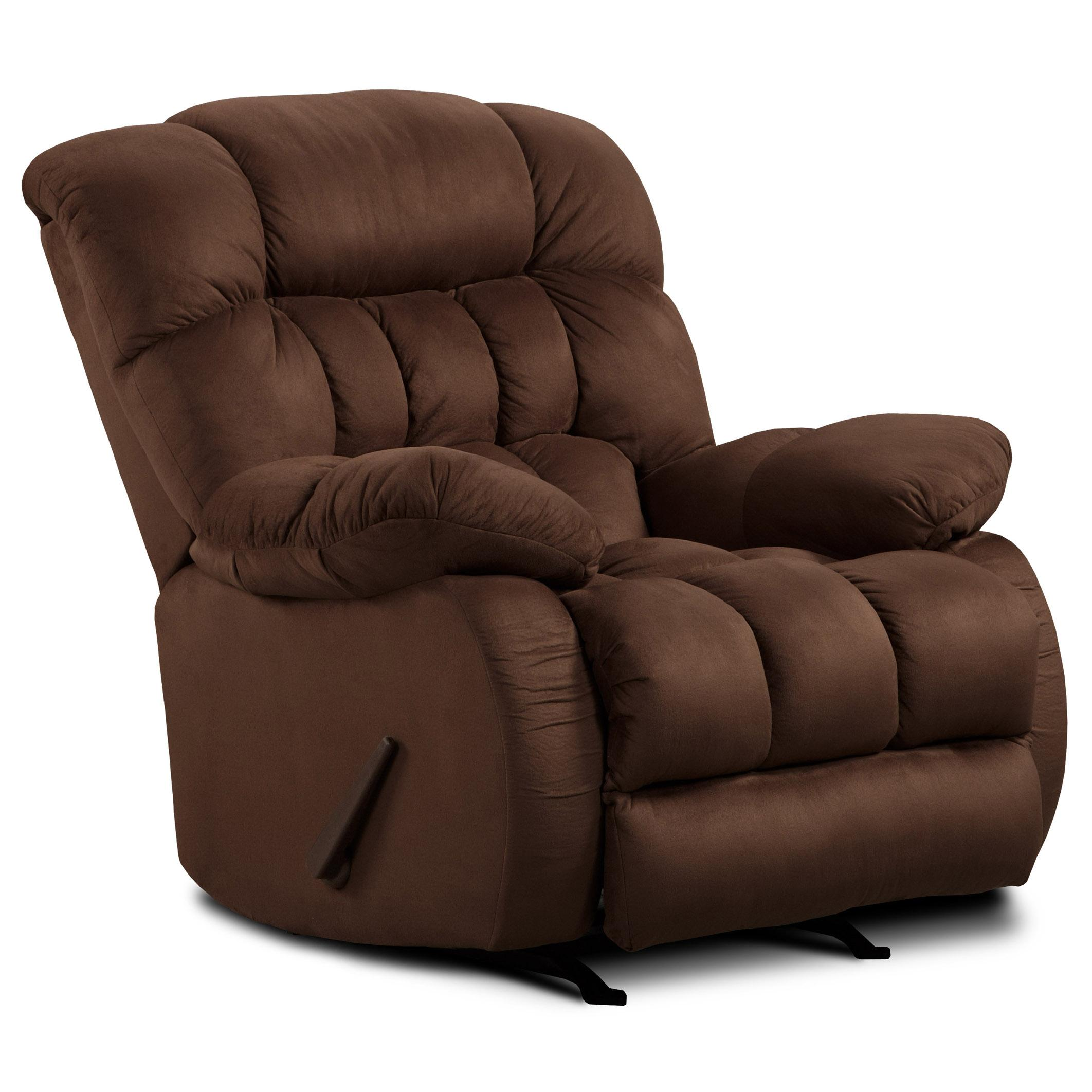 9200 Casual Recliner by Washington Furniture at Lynn's Furniture & Mattress
