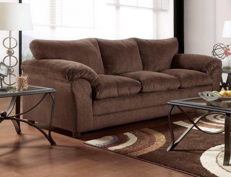 Jessa Sofa by Washington Furniture at Household Furniture