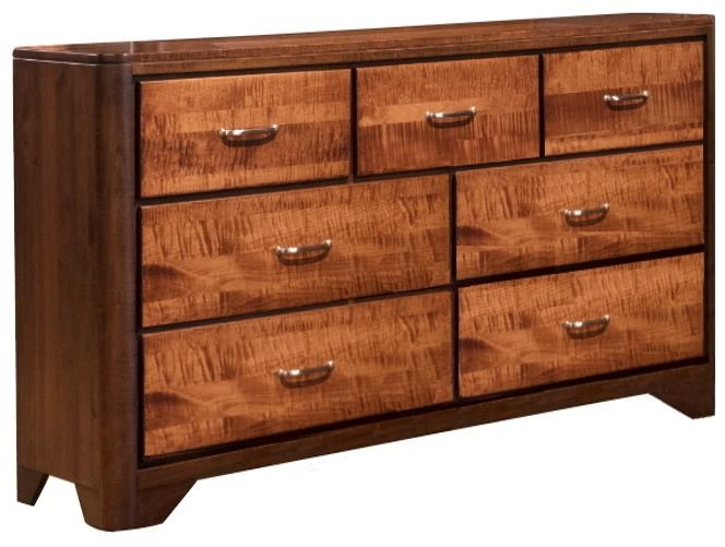London Triple Dresser by Wayside Custom Furniture at Wayside Furniture