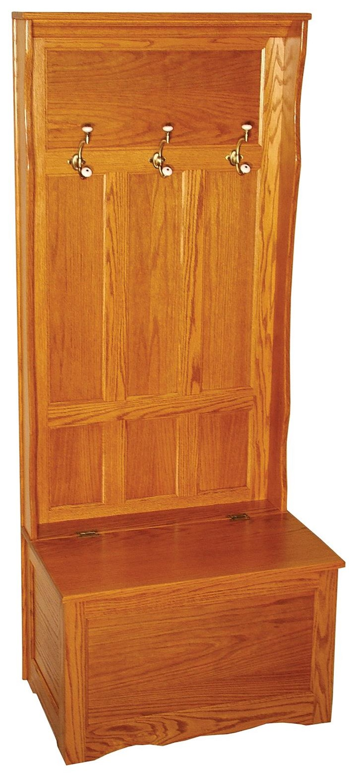 """Hall Seats 30"""" Traditional Hall Seat by Wayside Custom Furniture at Wayside Furniture"""