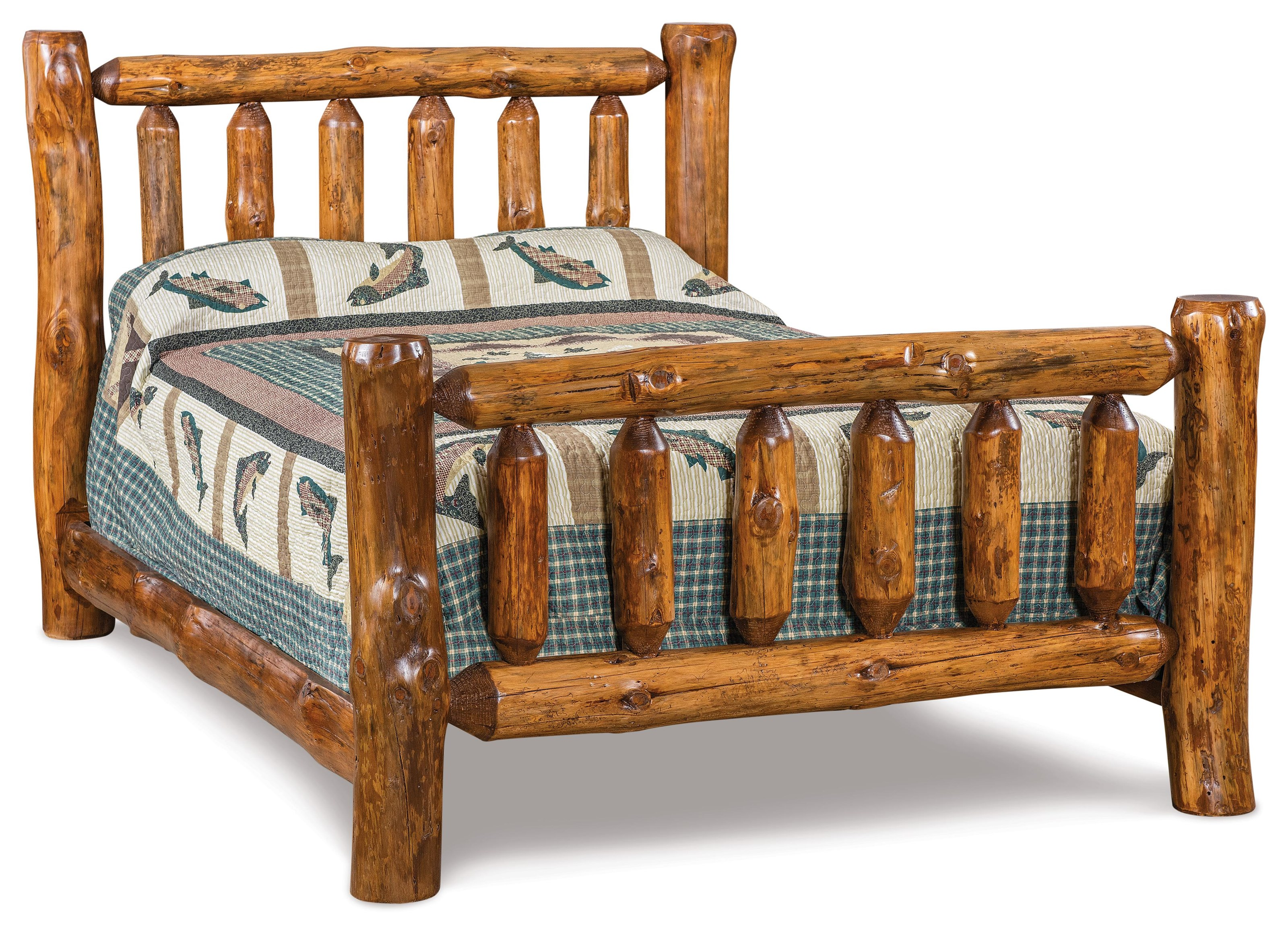 King Log Bed