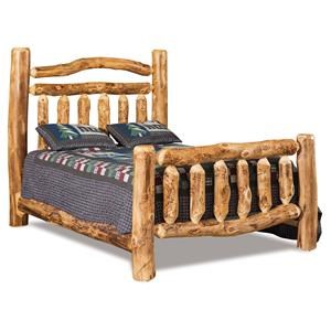 Queen Double Rail Bed